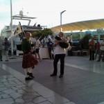 Jean-François et Olivier sur le port de Toulon pour la fête de la musique 2013 - 02
