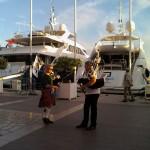 Jean-François et Olivier sur le port de Toulon pour la fête de la musique 2013 - 04